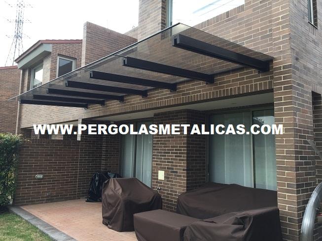 Pergolas metalicas colombia bogota for Terrazas metalicas