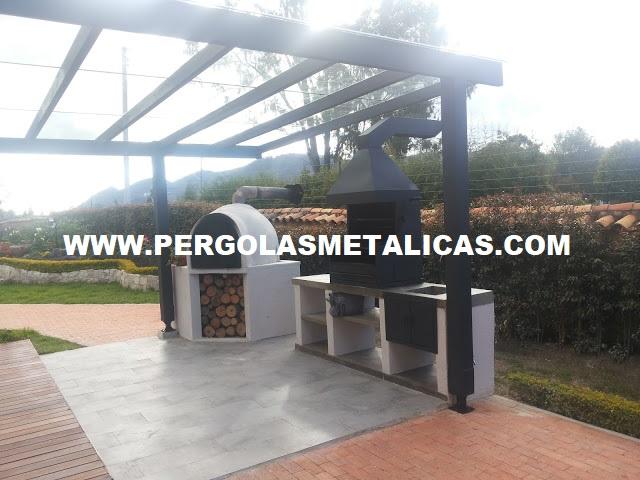Pergolas Metalicas Colombia Bogota